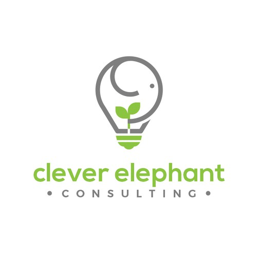 Logo Design for Clever Elephant