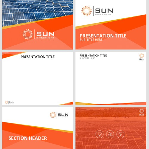 Solar Energy - Power Point Presentation and New Logo design