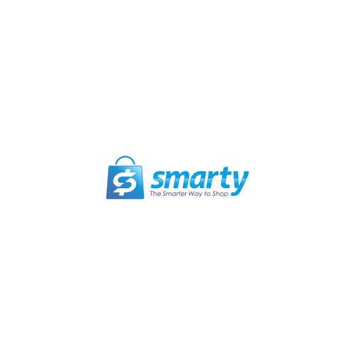 Bold logo concept for smarty.