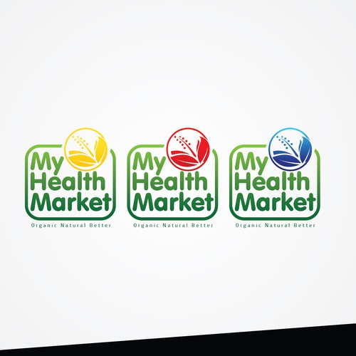 Create a truly GREAT and UNIQUE LOGO for My Health Market!