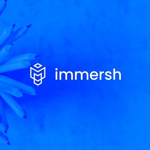 Immersh Logo Design