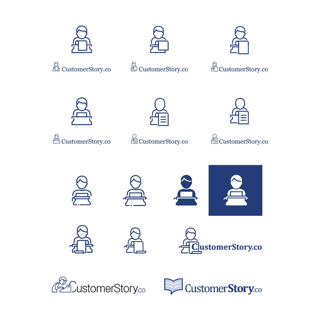 Create an Amazing Icon & Logo Design for CustomerStory.co