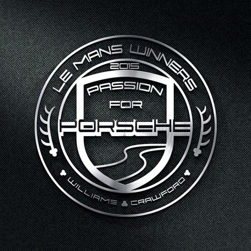Logo design for a Porsche dealer