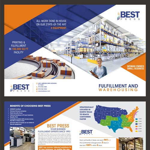 Marketing Brochure for a Commercial Printing Company