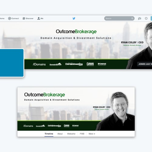 Outcome Brokerage Social Media Design