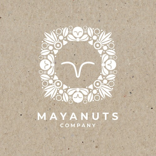 Logo Mayanuts Company
