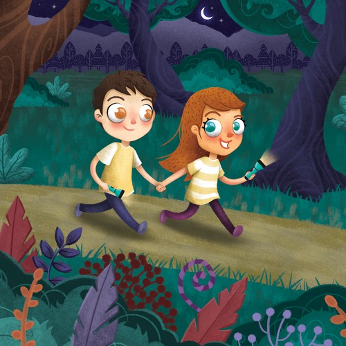Right Now I am Brave Book Illustration