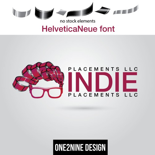 Logo for indie film company