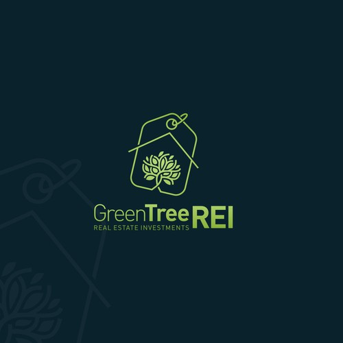 Logo concept for Real Estate Investment