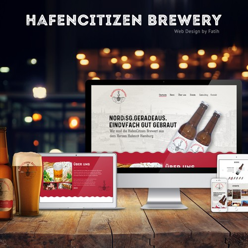 Hazencitizen Breweer Web Design