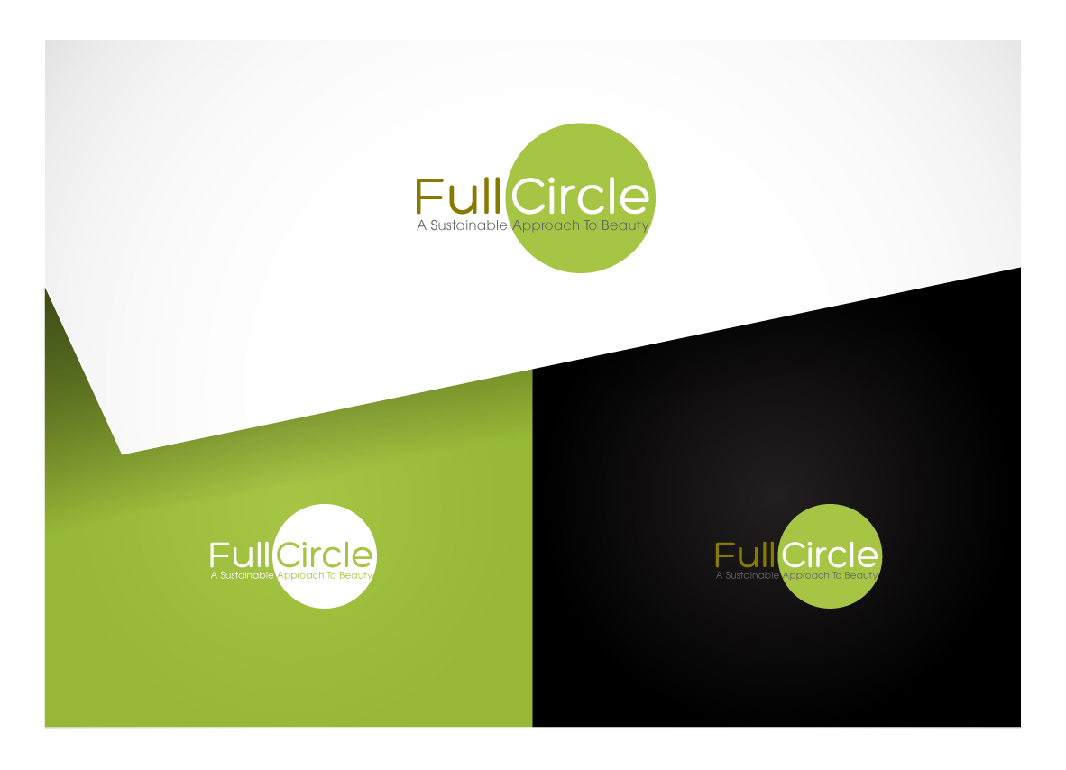 logo for Full Circle  - A sustainable approach to beauty