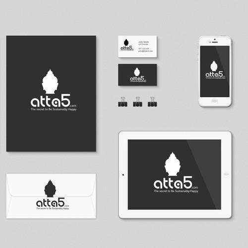 Bold logo for ATTA5.com