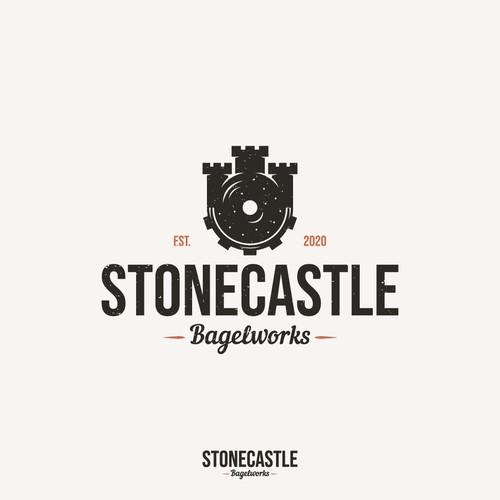 STONECASTLE BAGELWORKS - Vintage logo