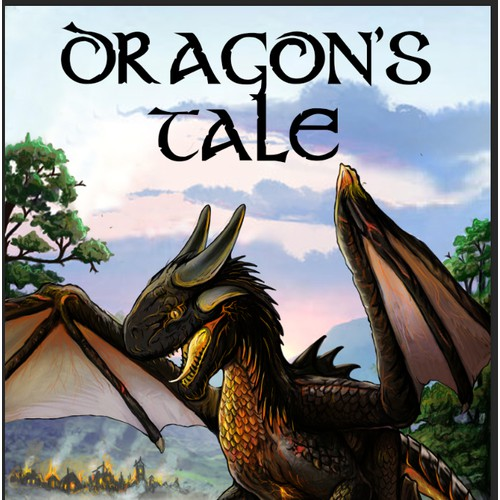 A Dragon's Tale- Childrens book