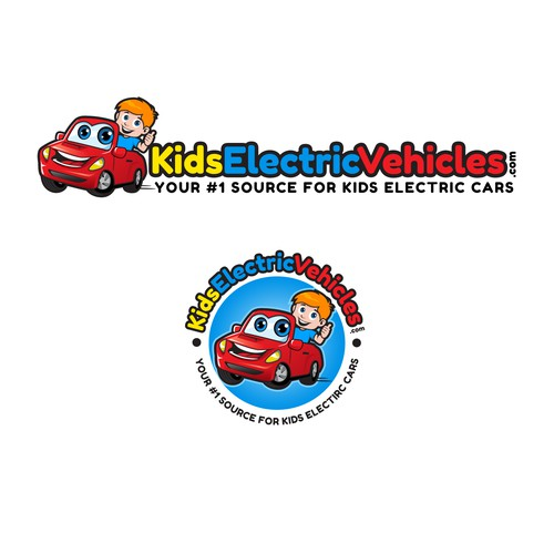 KidsElectricVehicles needs a cartoonish logo