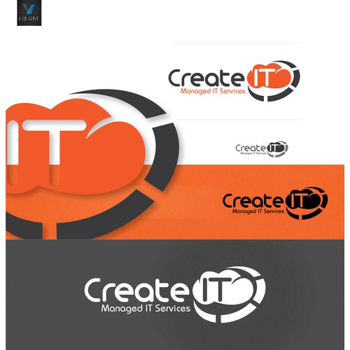 Create IT Managed Services Logo