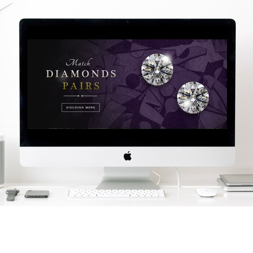 Banner for an Online Jewelry Shop