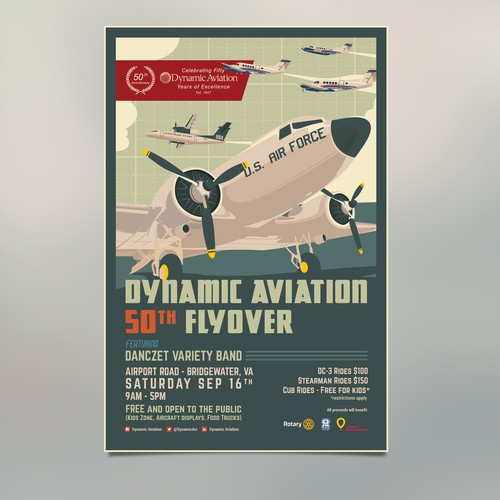 Aviation Event Poster