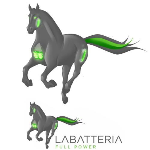 La Batteria Mascot design