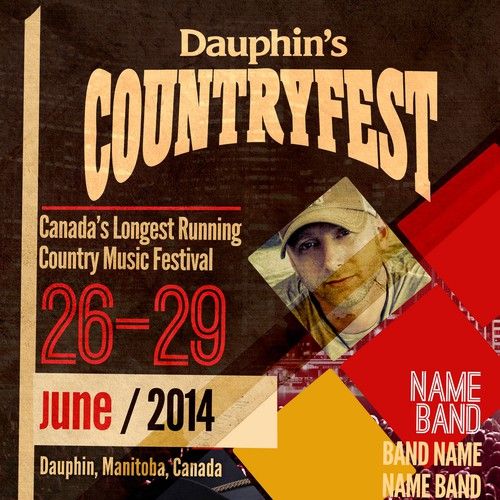 Dauphin's Countryfest needs a POSTER CONCEPT!