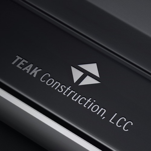 Logo for a construction company of modern houses. Winning project.
