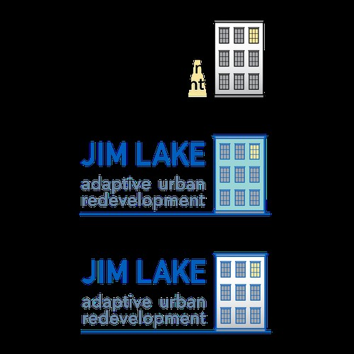 Jim Lake logo, adaptive urban redevelopment
