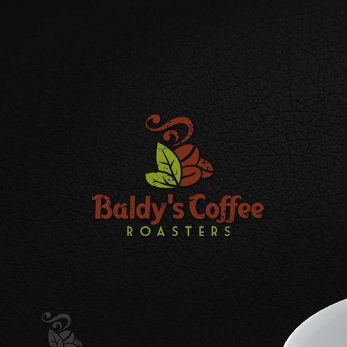 Logo Design For Baldy's Coffee Roasters