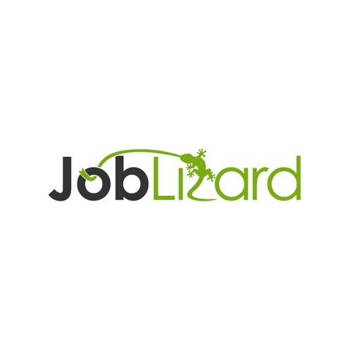 Fun memorable logo style for JobLizard