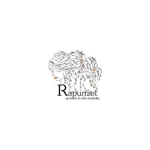 Logo for hairline Rapunzel