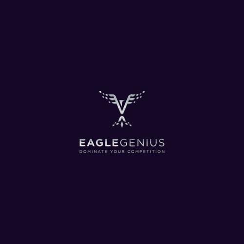 Logo Design for Eagle Genius