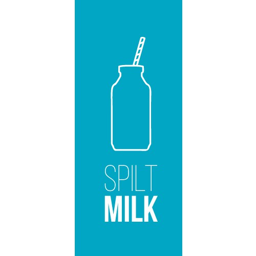 Got Milk? Spilt Milk is looking for a new logo, all dairy/retro signage fans apply!