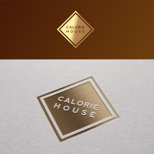 Create a logo for my 'Calorie' oriented food/lifestyle/ecommerce website (luxury/bold/simple)