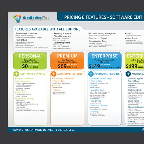 Pricing and Features - Flyer Design