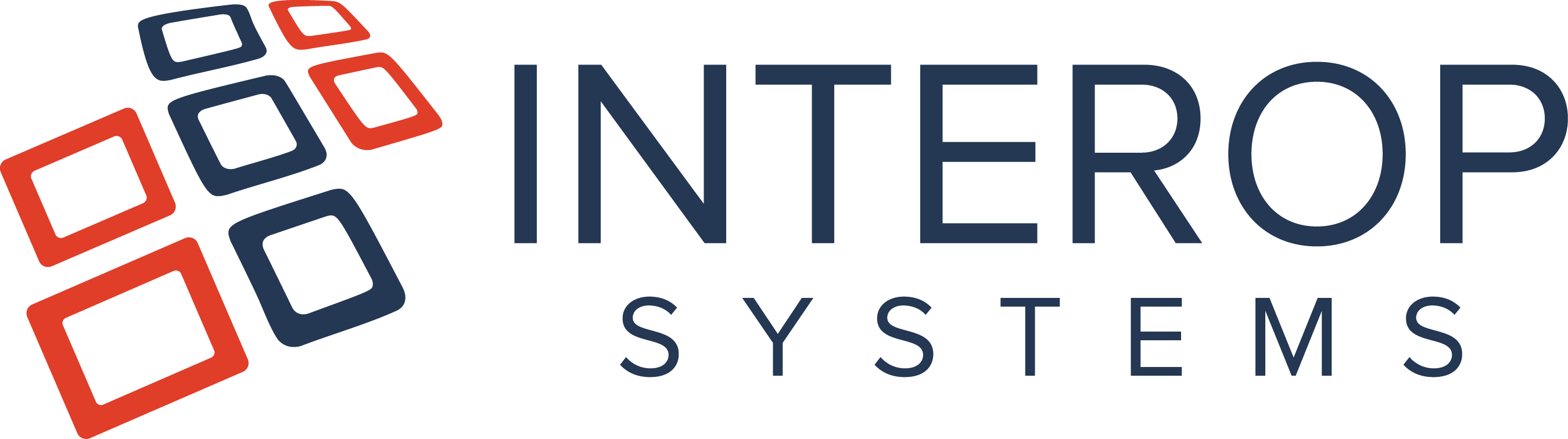 Interop Systems needs a cleaner, fresher logo