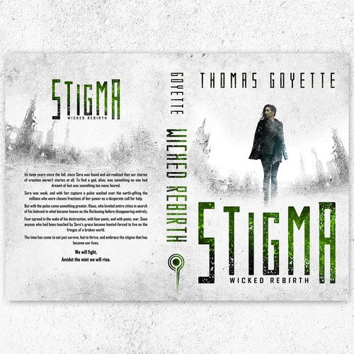 STIGMA-Cover design entry