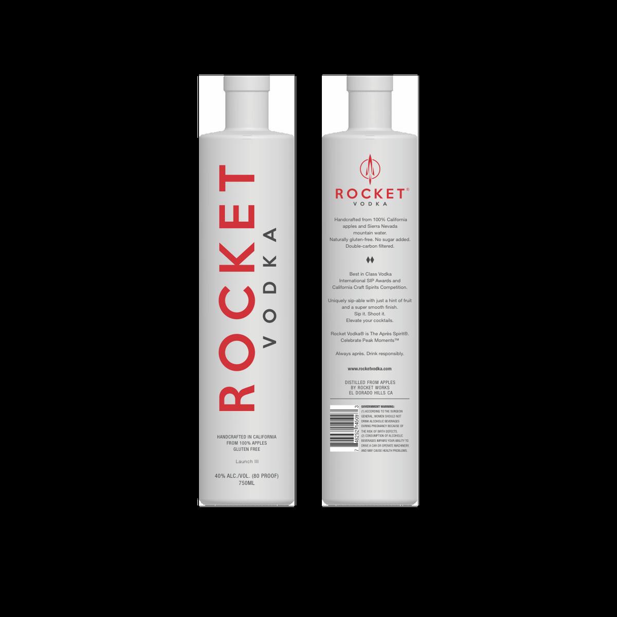 Rocket Vodka Launch III