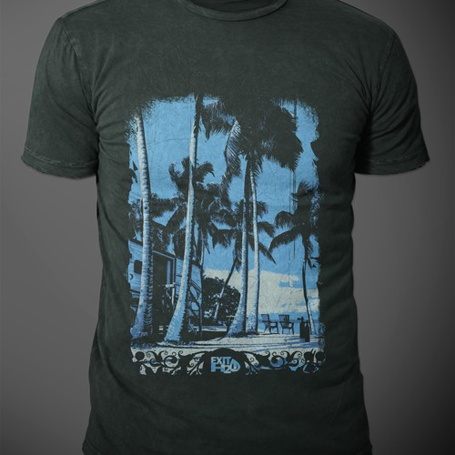 Tropical/Island t-shirt