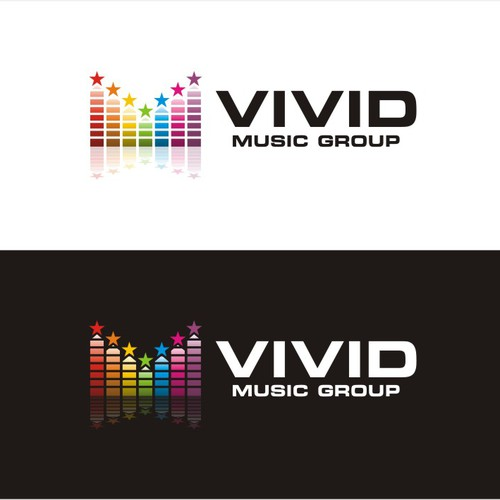 Create an emotionally powerful logo for Vivid Music Group
