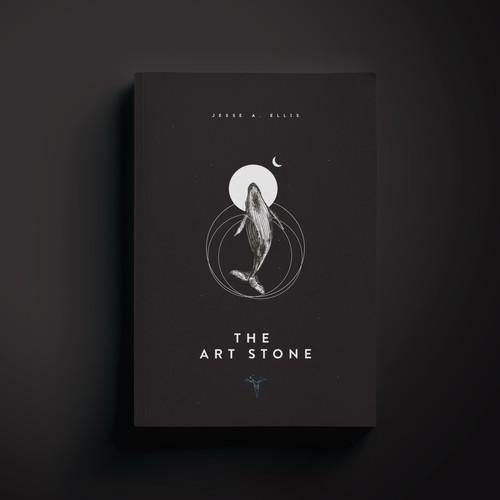 The Art Stone, a minimalist fantasy book cover.