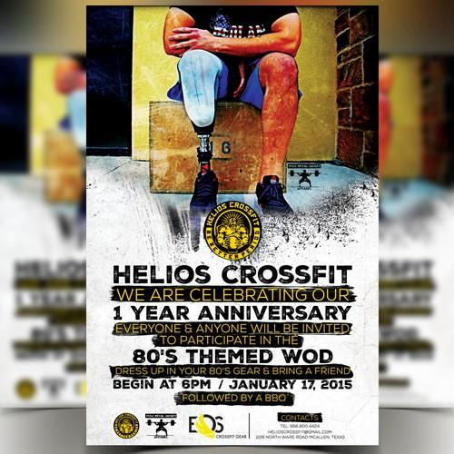 Helios CrossFit 1 Year Anniversary Community WOD