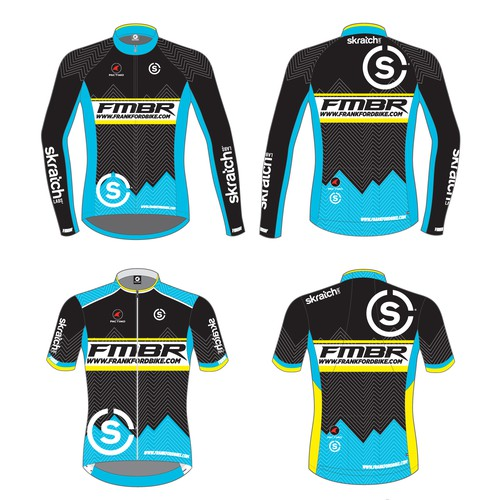 Jersey for a US mountain bike team