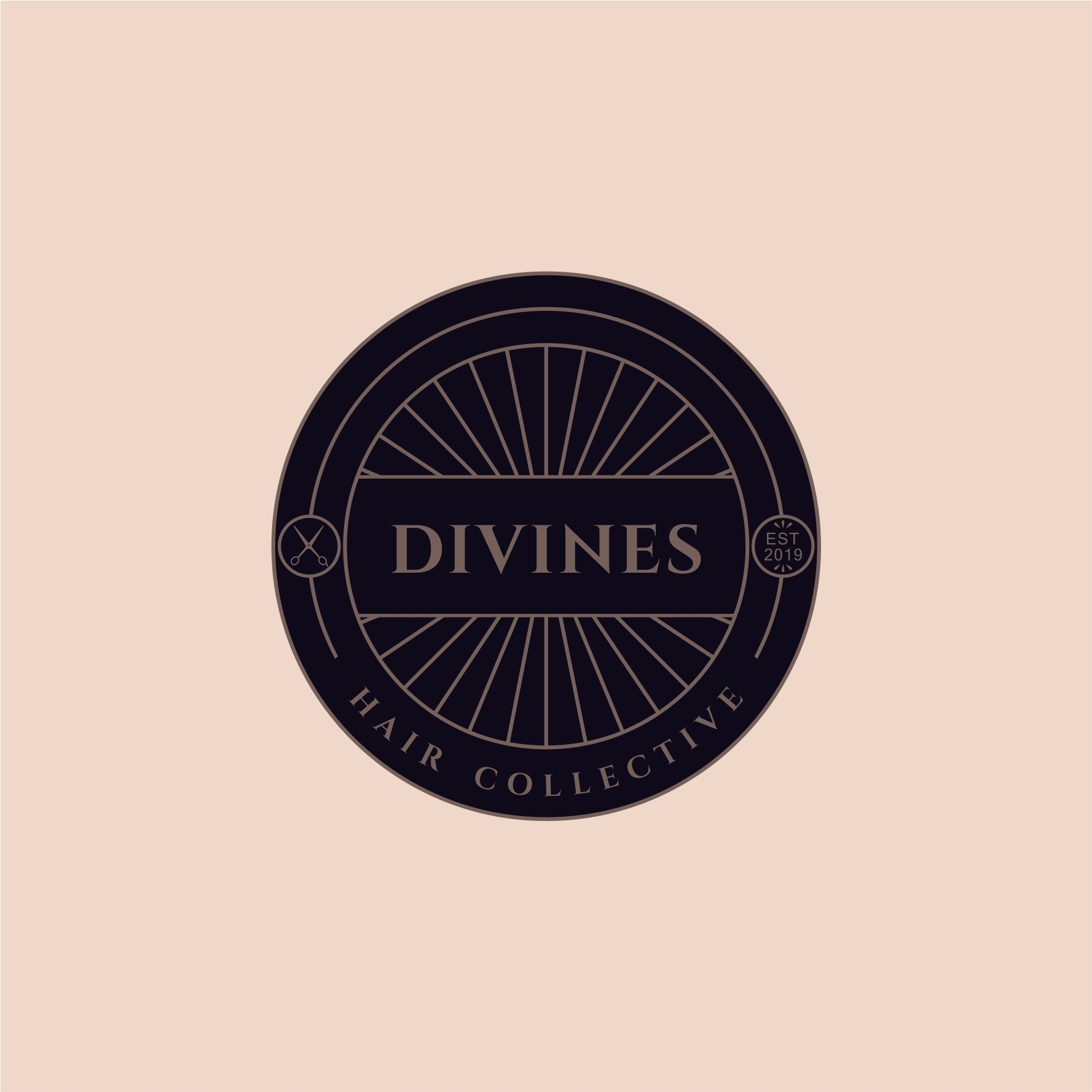 Design an awesome deco logo for Divines Hair Collective