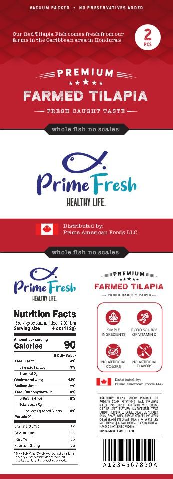 Prime Fresh Label