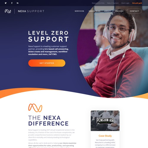 Nexa Support Design