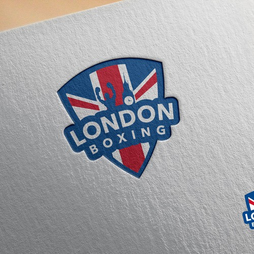 London Boxing Logo Design