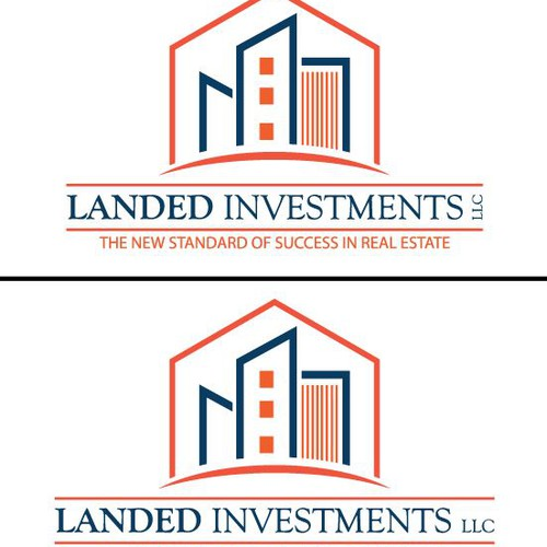 Create the next logo for Landed Investments LLC