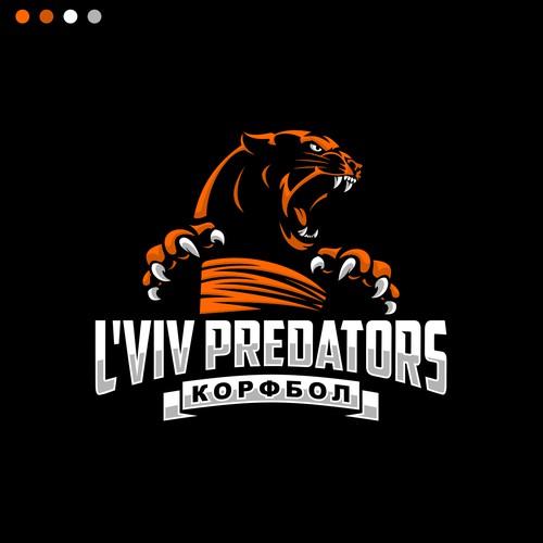 Rebrand the Ukrainian korfball pioneers L'viv Predators