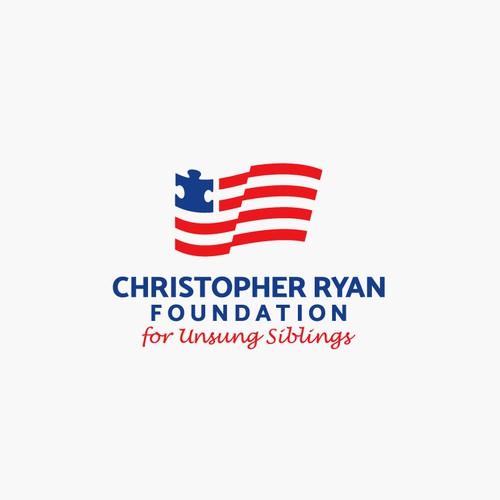 American Flag + Autism Symbol