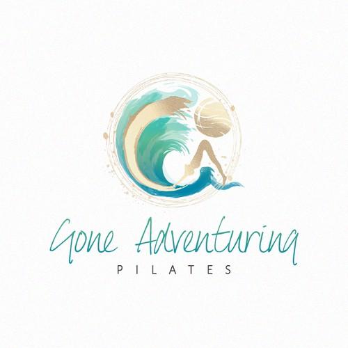 An elegant and artistic logo design for Gone Adventuring.