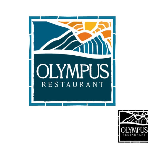Create the next logo for Olympus Restaurant / Olympus Fine Foods